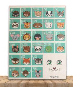 alfabet-bord-hout-dierennamen-productfoto